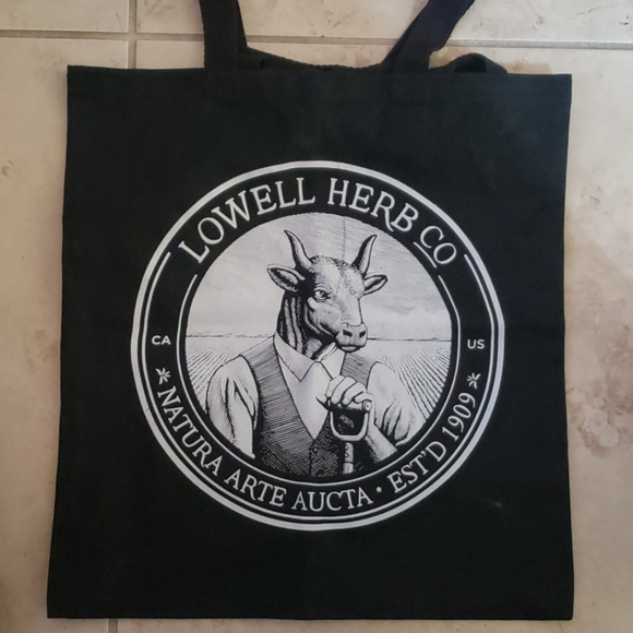 Lowell Herb Co Handbags - Lowell Herb Co canvas bag